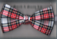 Ready Tied Tartan Bow - SP.0663